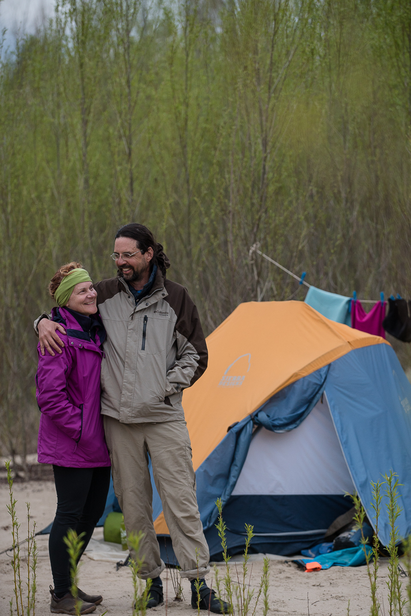 John and LaNae Abnet — paddled the Wabash/Mississippi in 2015. LaNae is blogging the first two weeks of the expedition at  www.separateboats.com