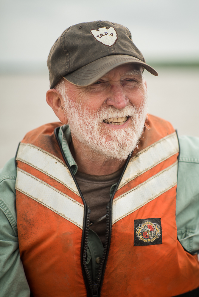 Honorary paddler Paul Hartfield is a Biologist for US Fish and Wildlife. He was on my first journey back in 2013, and here joins us on a bar near his home. In his little center-console fishing boat, Hartfield motors to us, drops lines, catches catfish, camps with us, shares stories, and departs the next day.