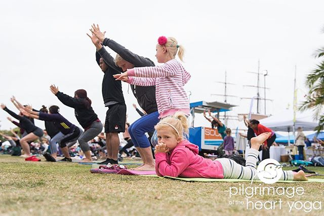 All are welcome to San Diego's largest FREE Yoga Festival (even if they aren't quite ready to participate) 🤣 Follow the link in our bio to register for FREE!