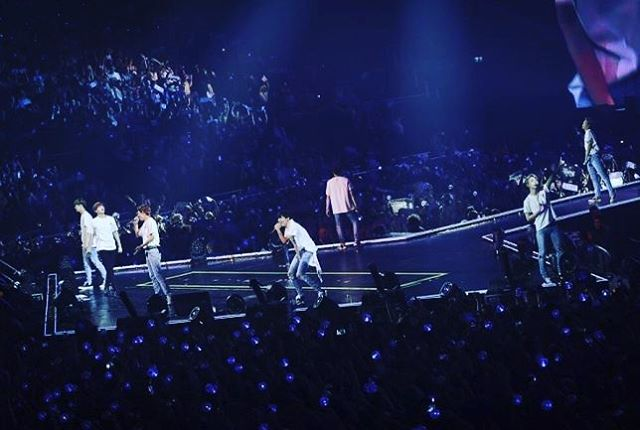 The @bts.bighitofficial shows in London were amazing! We loved them and we can't wait to see them agaim! Photo: Dawbell . . . #kpop #london #bts #concert #btsloveyourselftour #v #jungkook #jimin #rm #suga #jin #jhope #lovebts
