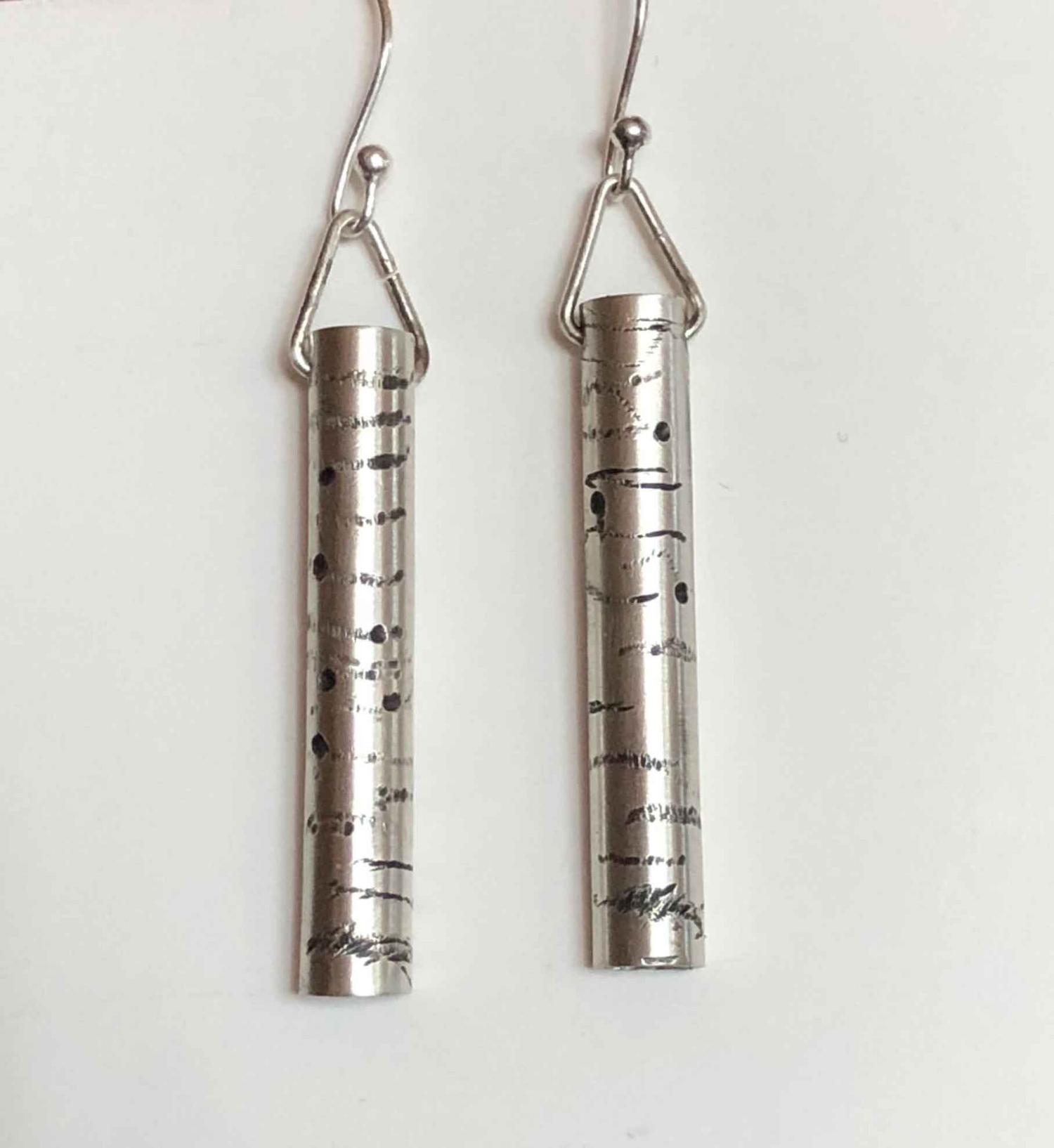 Aspen Tree Earrings Necklace
