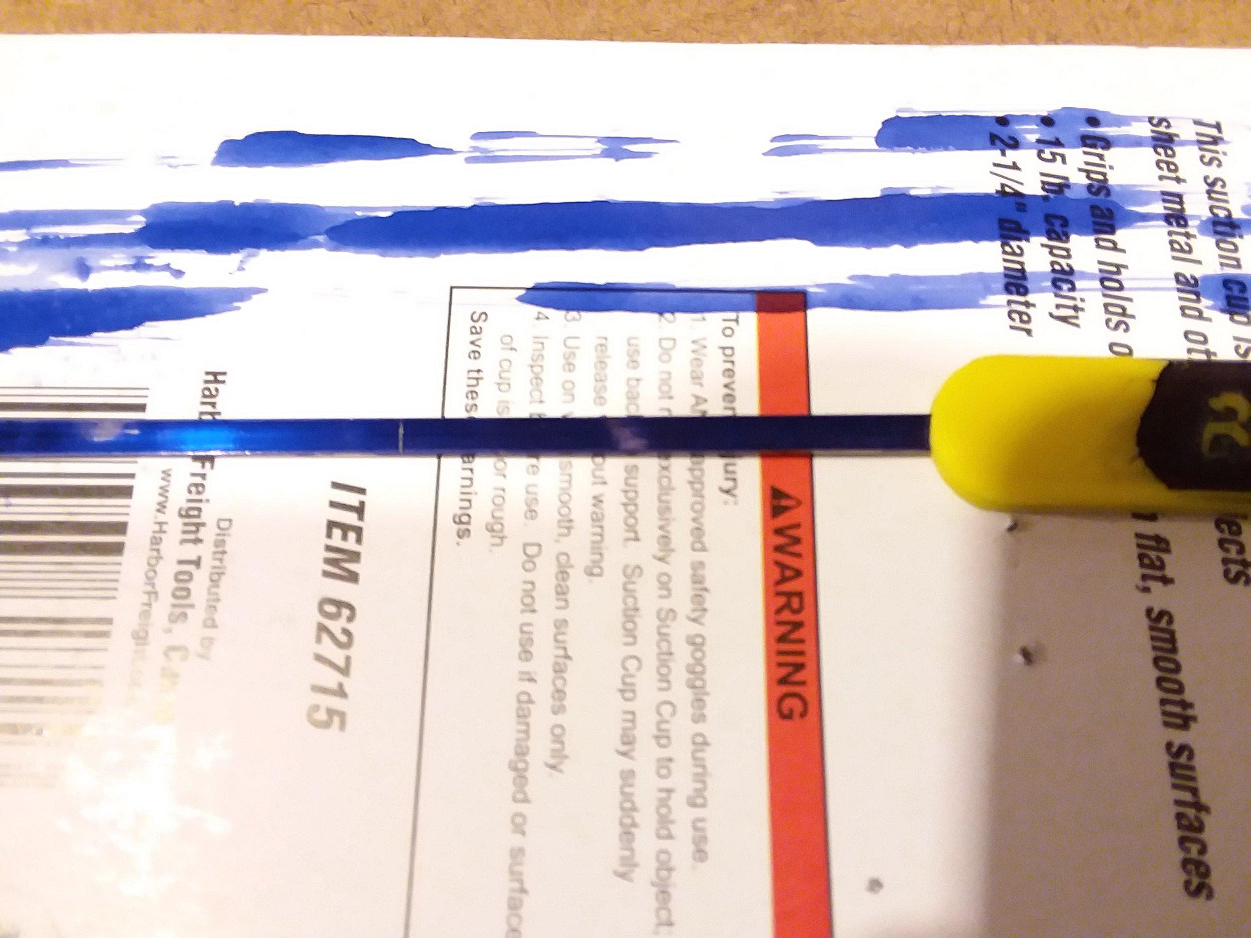 Marking length to cut