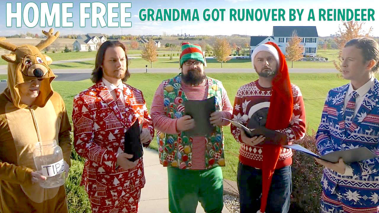 Grandma Got Run Over By a Reindeer DARREN RUST Produced/Recorded/Mixed