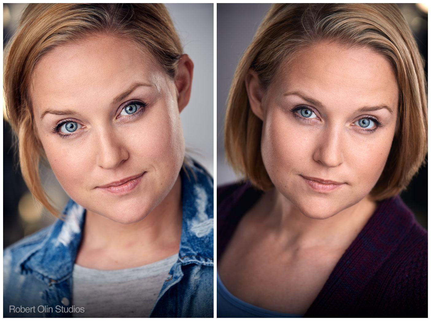 2 of Michelle's recent headshots. Hip & Young Mom