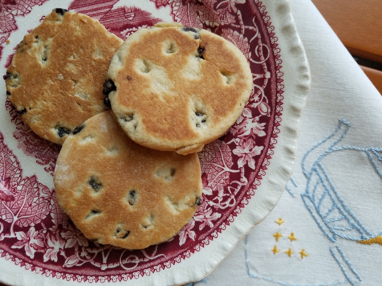 Welsh cakes are a delicious, not-too-sweet treat that are wonderful with hot tea or coffee.