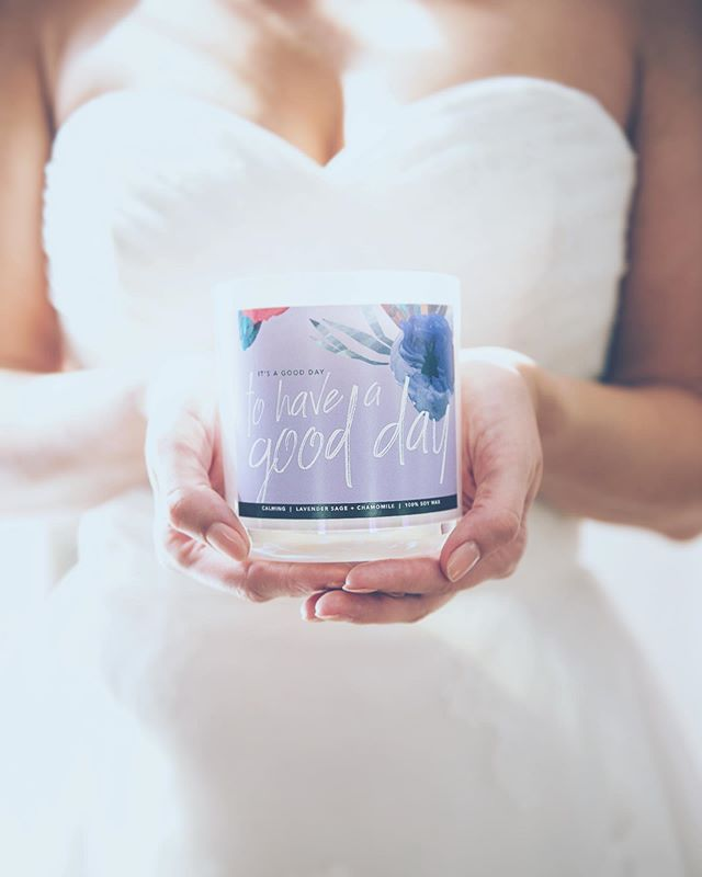 💕It's a good day to have a good day💕 📷: @helloshelbyphoto | labels: @illumesc . . . #wedding #candles #soywaxcandles #scentervention #scenterventioncandles #changeyourmood #changeyourlife #aromatherapy #therapy #therapyinspired #therapistcreated #weddingphotography #haveagoodday #selfcare