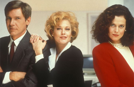 Working Girl (1988)     Won: Best Music, Original Song   (Let the River Run)    Nominated: Best Picture    Nominated: Best Director    Nominated: Best Actress in a Leading Role    (Melanie Griffith)    Nominated: Best Actress in a Supporting Role   (Joan Cusack)    Nominated: Best Actress in a Supporting Role (  Sigourney Weaver)