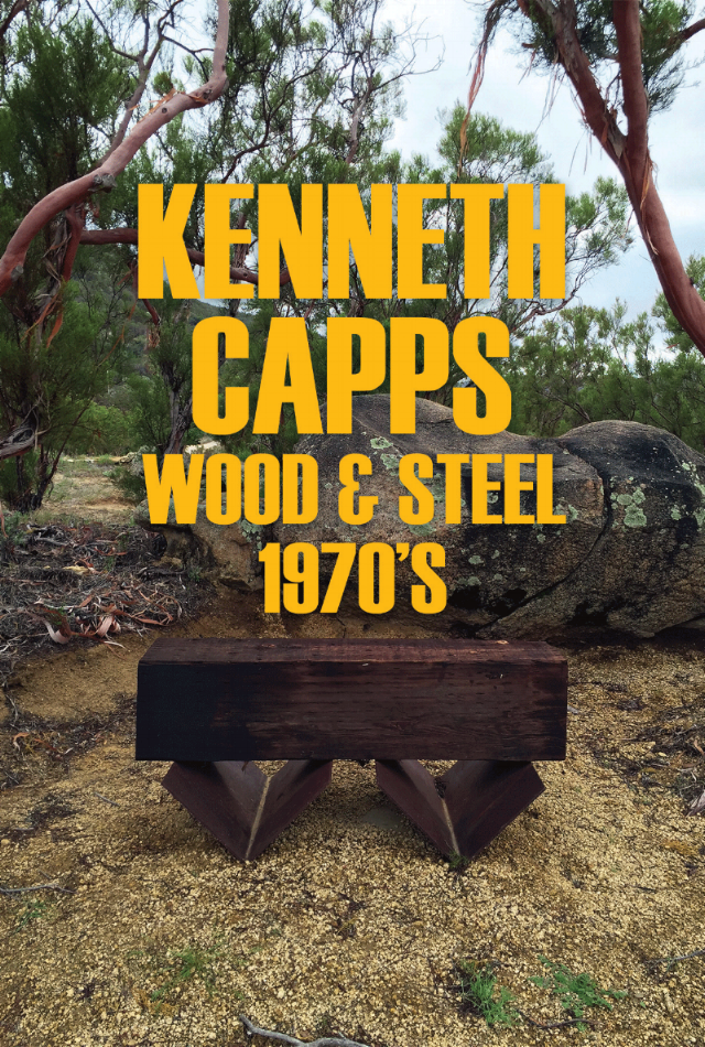 """Kenneth Capps - """"Wood & Steel"""" -11/12/16 - 1/7/17"""