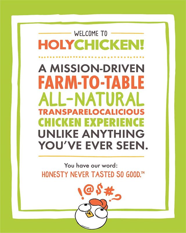 Hey #NewYork!  Do you like free stuff?  The first hundred customers to come to the #HolyChicken pop-up today and order an original grilled crispy #chickensandwich get a #free hat or t-shirt.  Tag your #chicken loving friends!