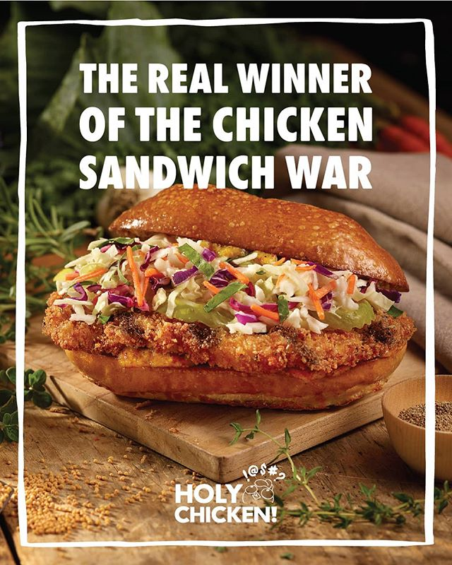 The real loser?  Chickens.  Just tellin' it like it is.  18 West 23rd Street NY, NY  11am to 5pm  #transparent #farmtotable #naturalfood #allnatural #realfood #chickensandwich #foodie #nycrestaurants #nyceats #nycfood #delicious