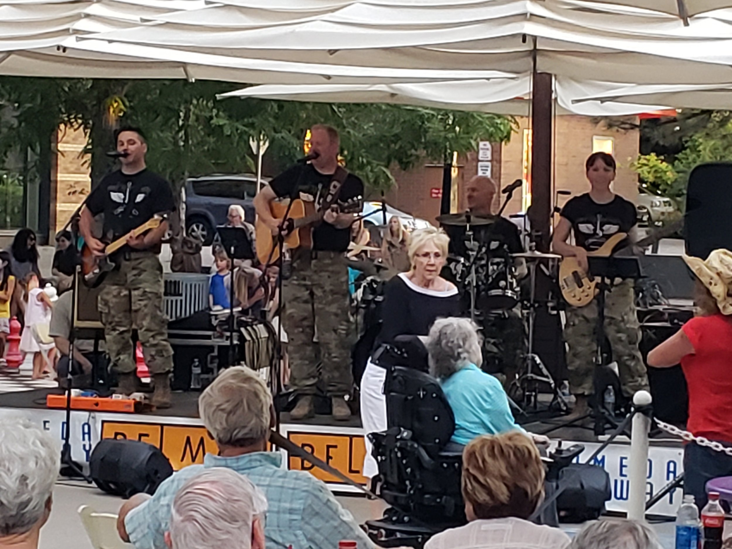 Belmar MUsic on the Plaza 101st Army Country Band (6).jpg