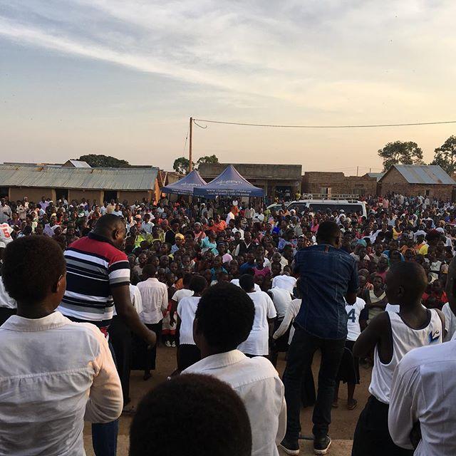 Crusade after our pastors conference. #jesusshowedup