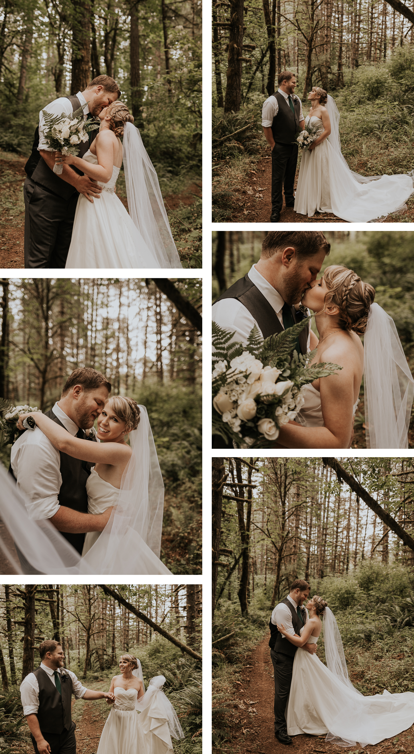 After we took a few bride and groom photos in the woods, they wanted to say a prayer together by the pond. the sweetest tears in these photos...