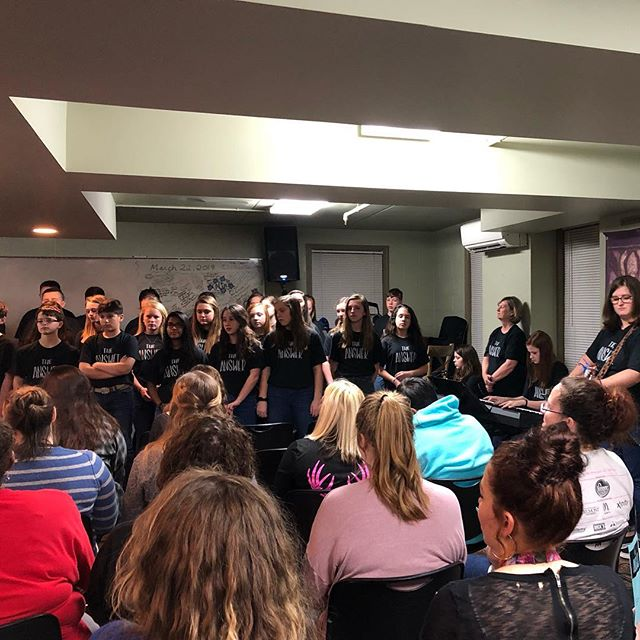 We are committed to engaging all generations in worship...even as worship leaders. Our 7th/8th choir, Higher Ground, is on mission in Nashville this weekend. Pray for them as they sing and serve! Home concert is Sunday at 5:30 in the chapel.