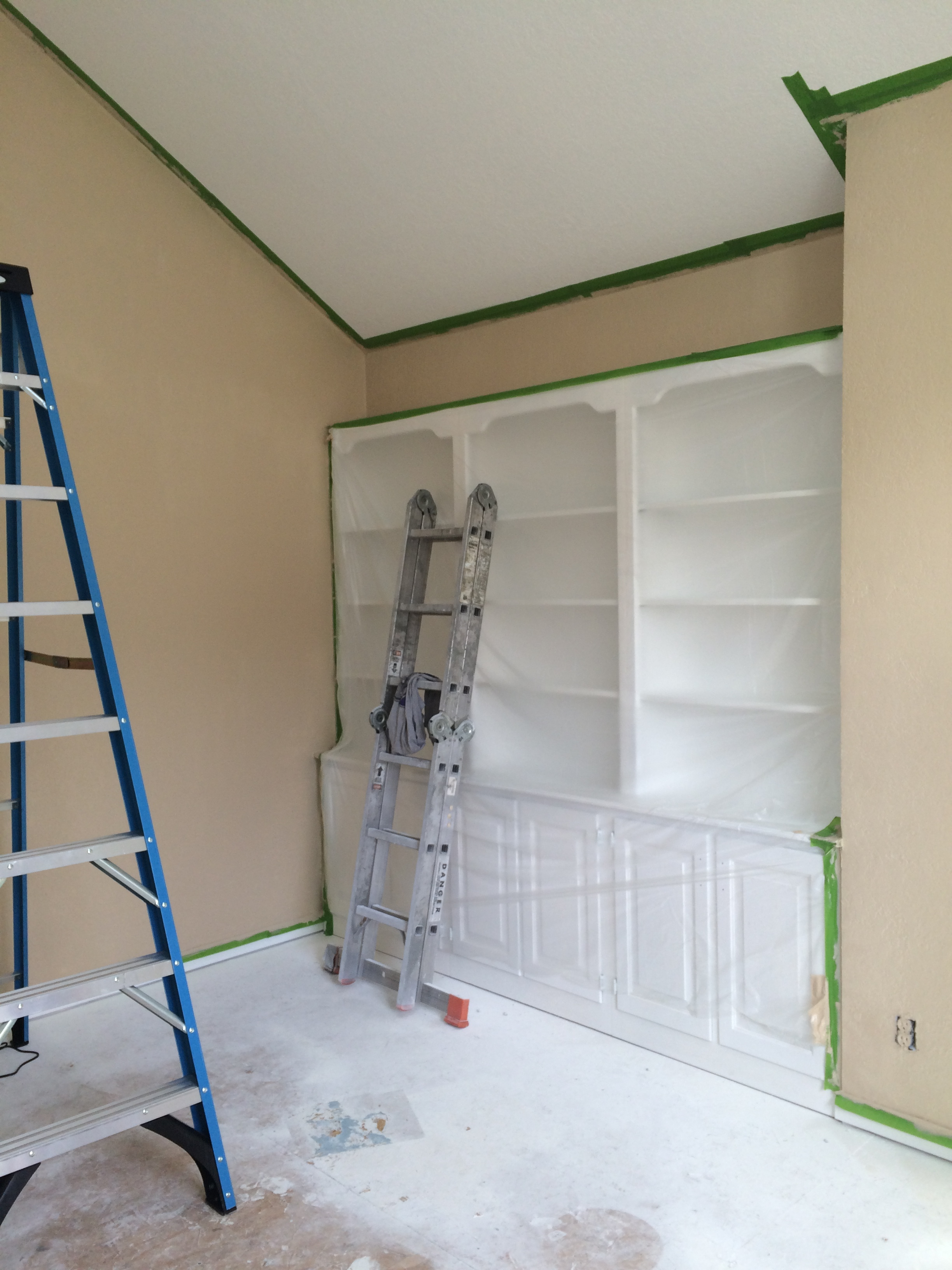 brian's office painted
