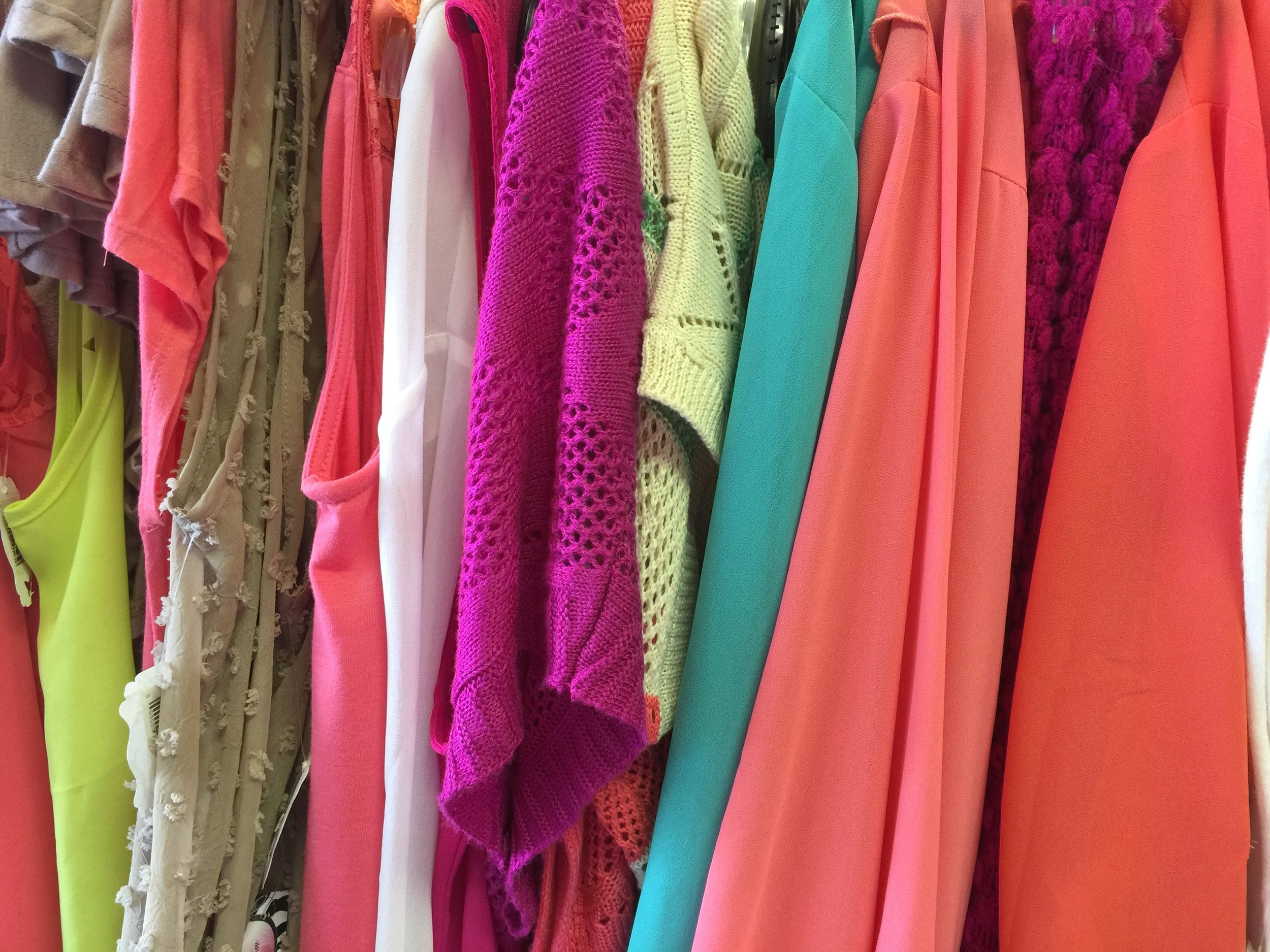 Cluttered Closet - Solutions