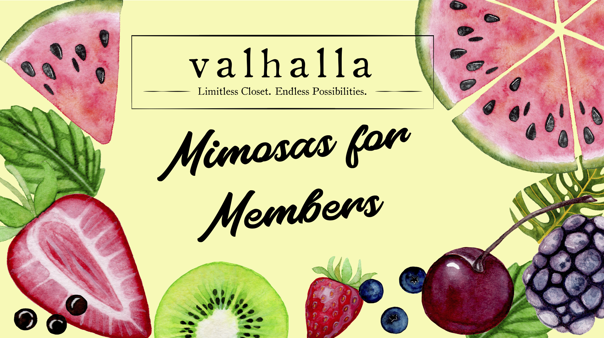 Valhalla Tampa Mimosas for Members