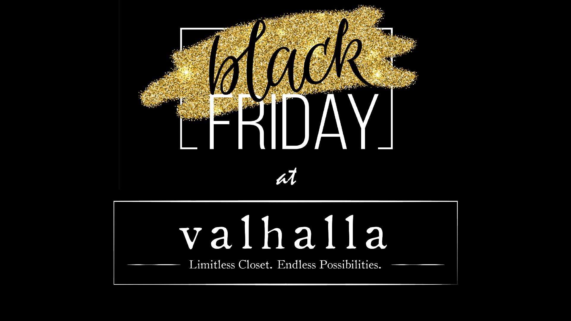 Valhalla Black Friday