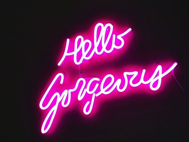 Nite ladies. We'll see you tomorrow. Open 11-7. #hellogorgeous