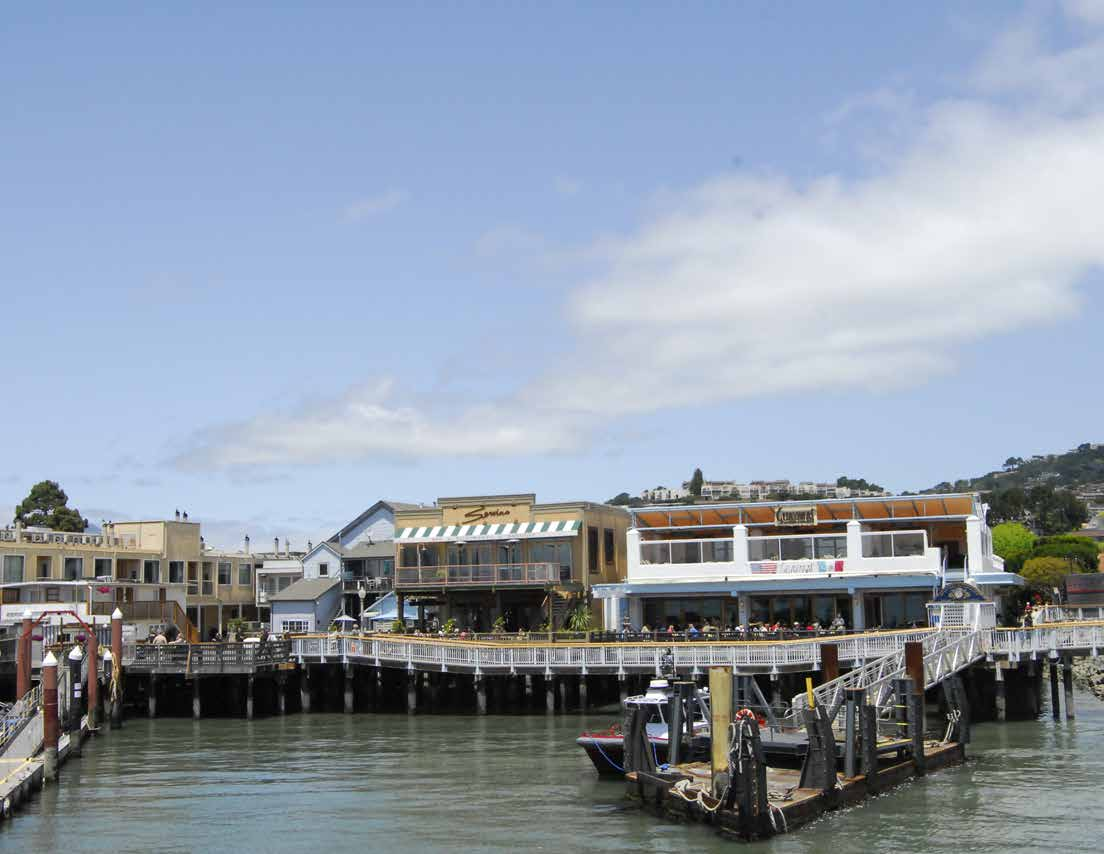 Tiburon Waterfront Portfolio, Tiburon, CA 10 Parcel Portfolio with Eight Mixed-Use Buildings & Two Parking Lots $17,000,000