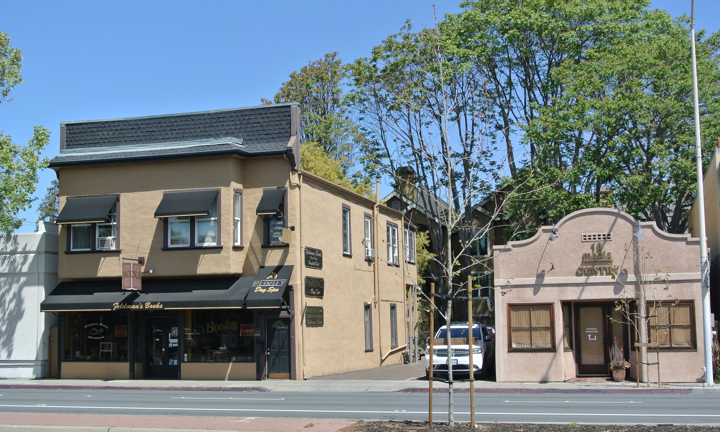 1162-1170 El Camino Real, Menlo Park, CA 94025 4,728 SF Property on 8,373 SF Parcel $3,400,000