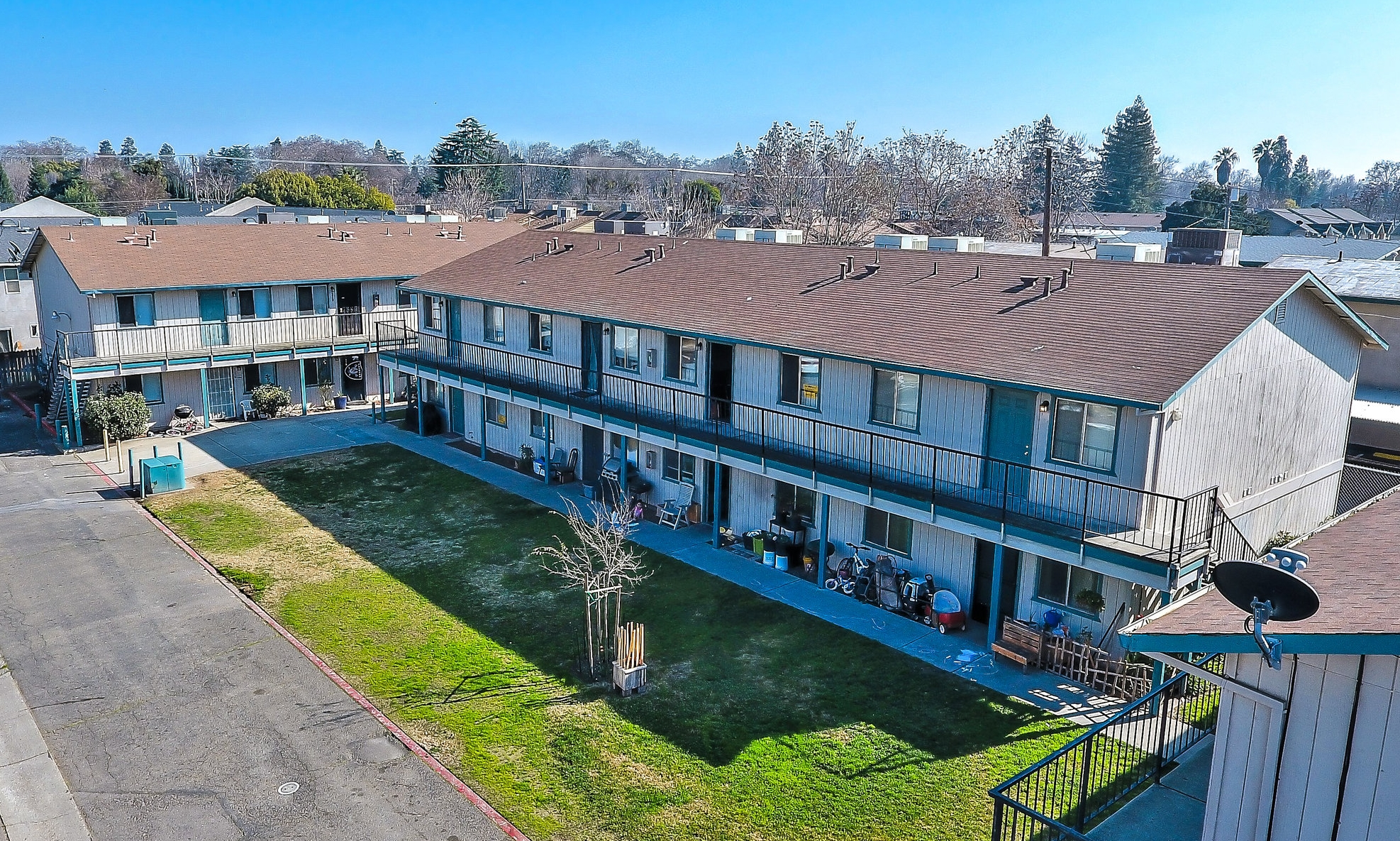 1108 Pioneer Ave, 1119 Colorado Ave, & 1230 Pioneer Ave, Turlock, CA 95380 63 Unit Multi-Family Units of Three Distinct and Separate Apartment Communities $6,800,000