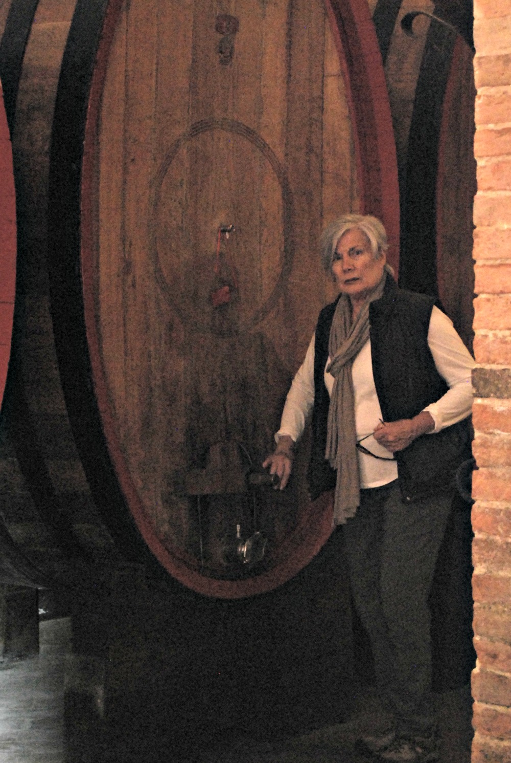- No Charlotte, you can't open the wine barrel.