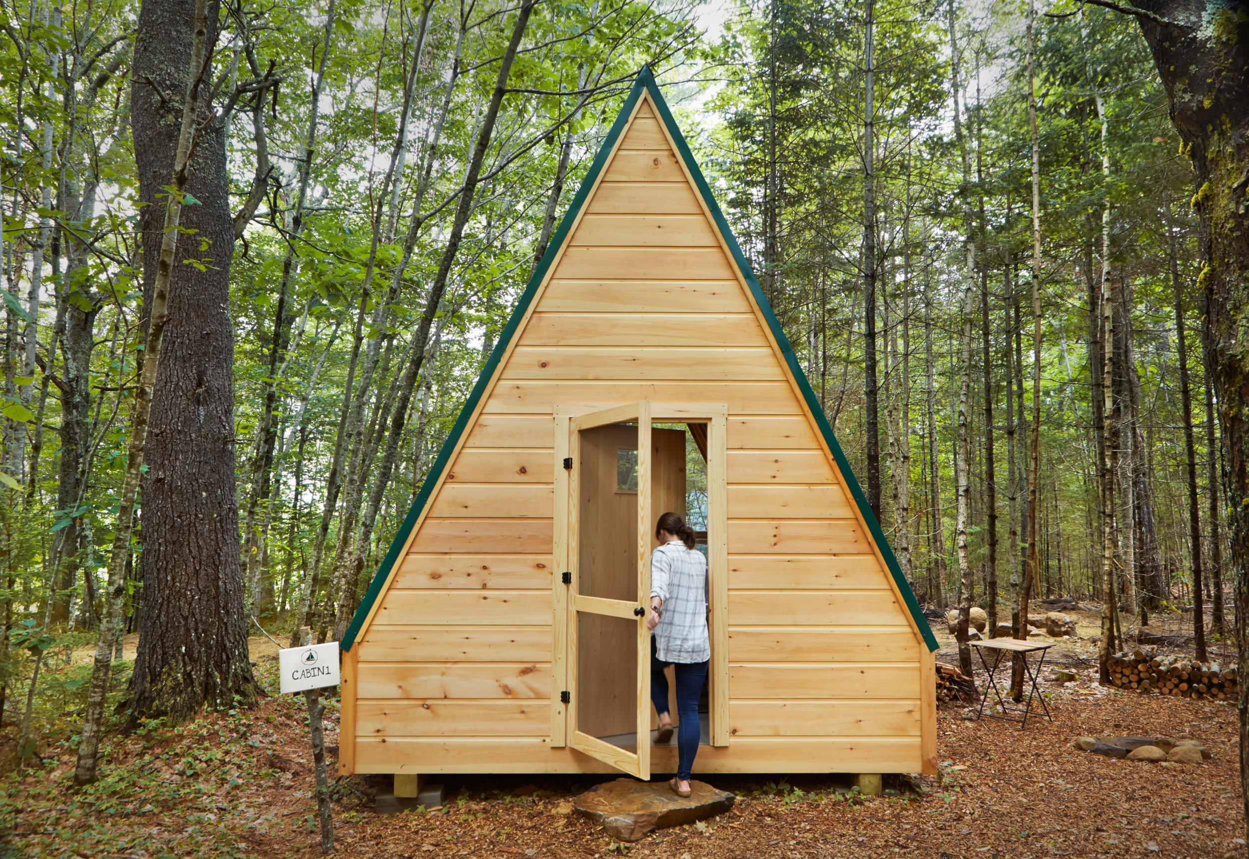 Luxury A-Frame Cabin