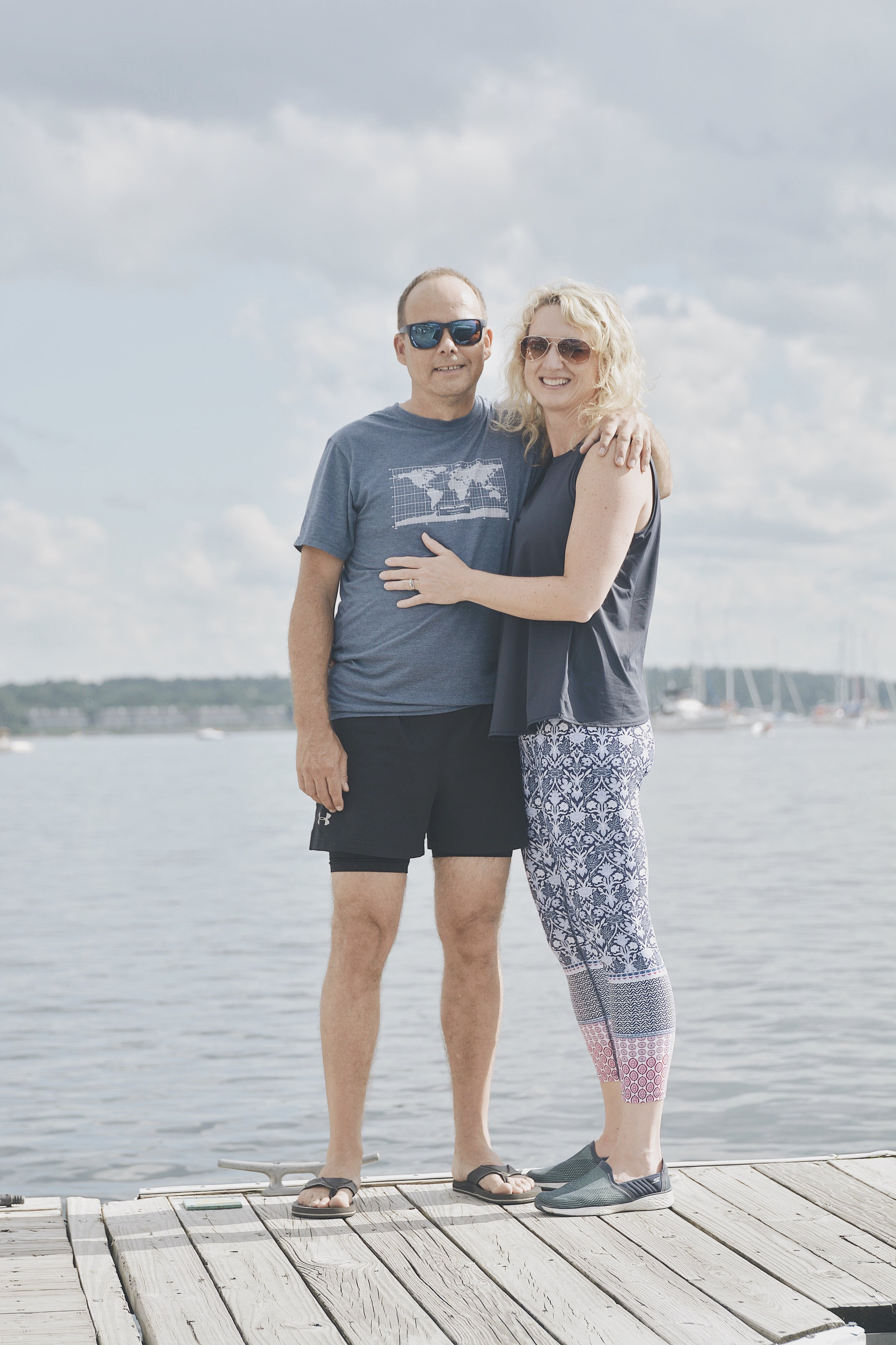 Isabelle brought her husband along and asked Patrick to infuse the love of yoga in him like he did with her years prior. Hopefully it worked!