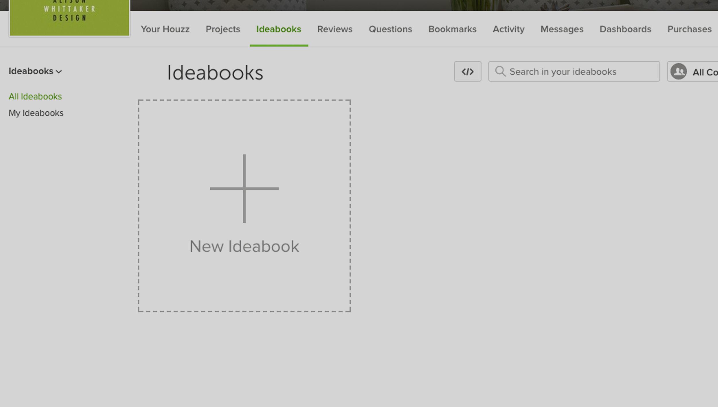 3. Start a Private Ideabook