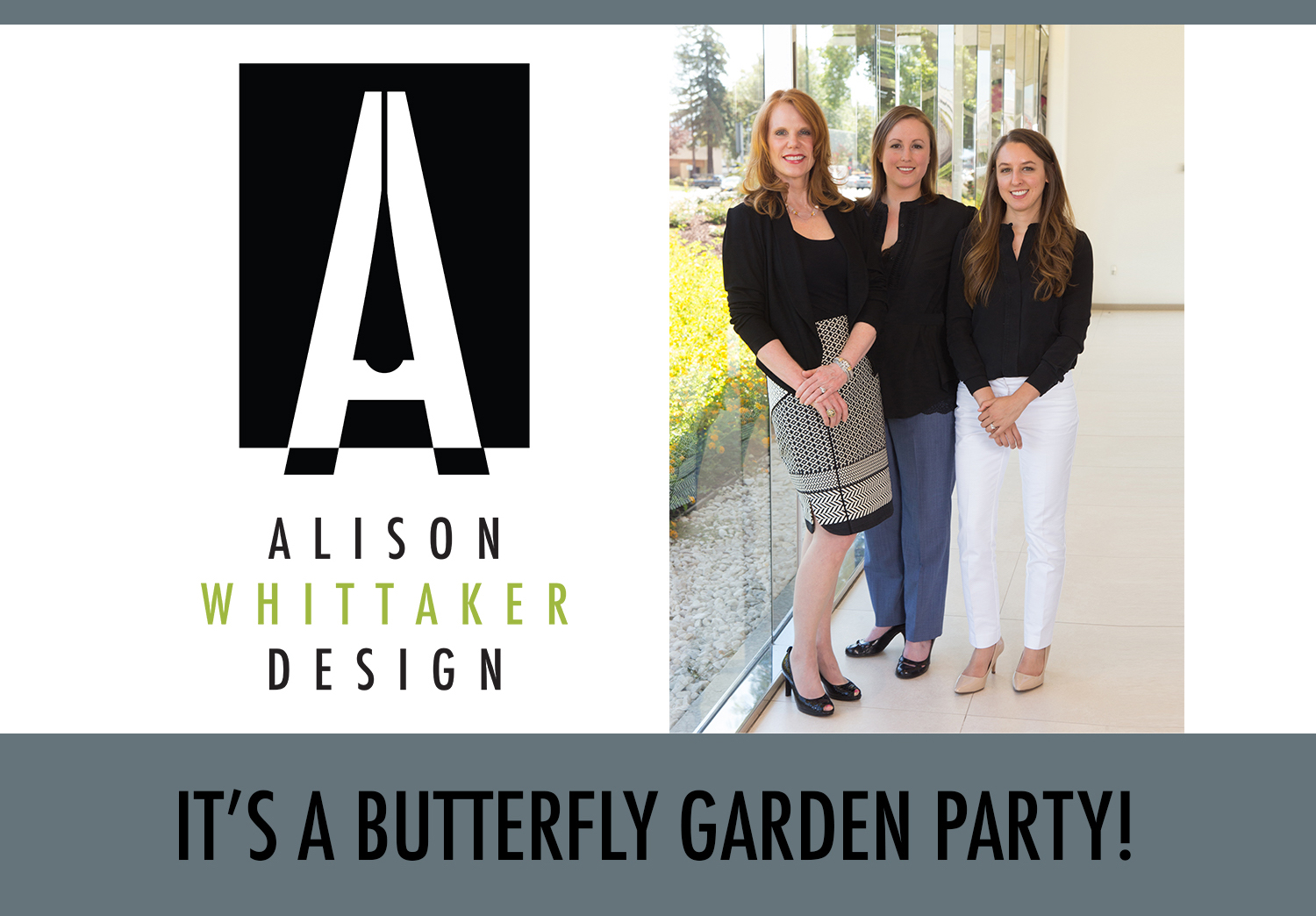 It's a Butterfly Garden Party!