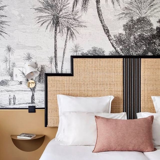 British colonial style in the heart of Paris at #hoteldoisytoile #vacationgoals #interior_design #interiorinspiration