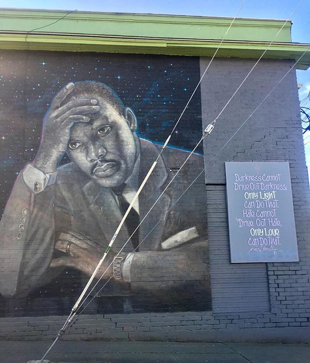 Mural on MLK Way in the Central District...only love can do that #blackgenderuw #blacklivesmatter