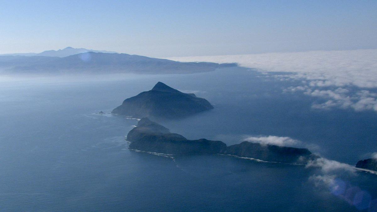 Anacapa Island and Santa Cruz Island, Transverse Range