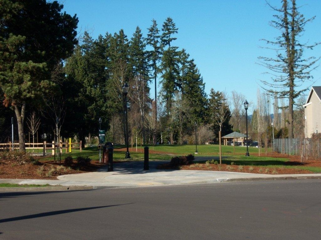 Evelyn M. Schiffler park across the street