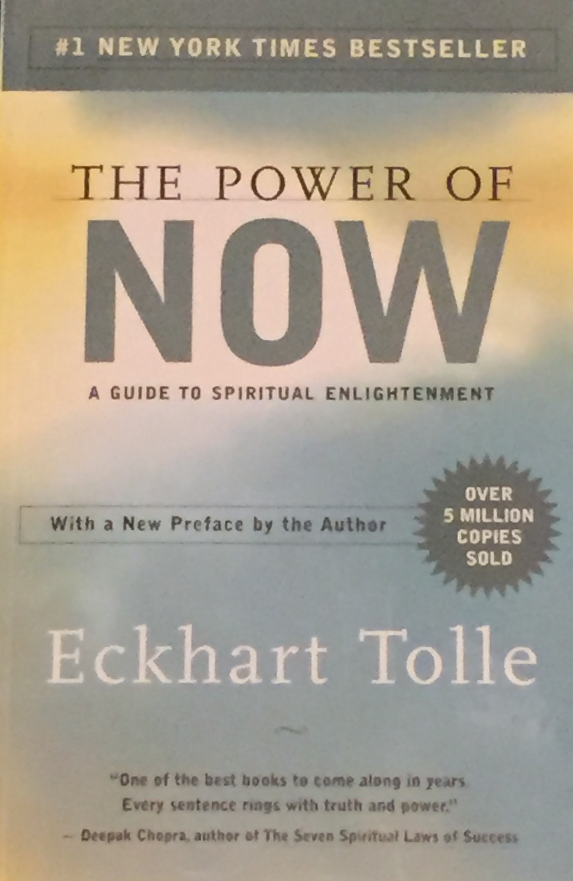 The Power of Now by Eckart Tolled