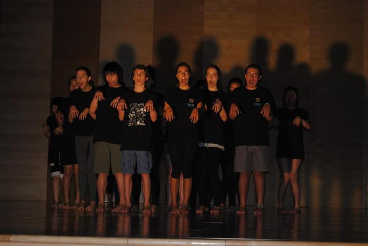Butoh workshop, 2011