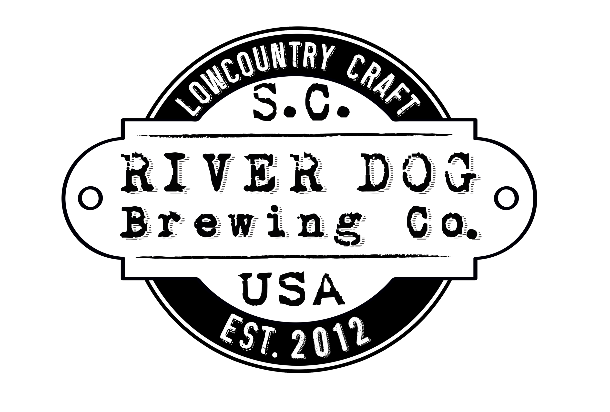 New River Dog tag logo - B&W.png