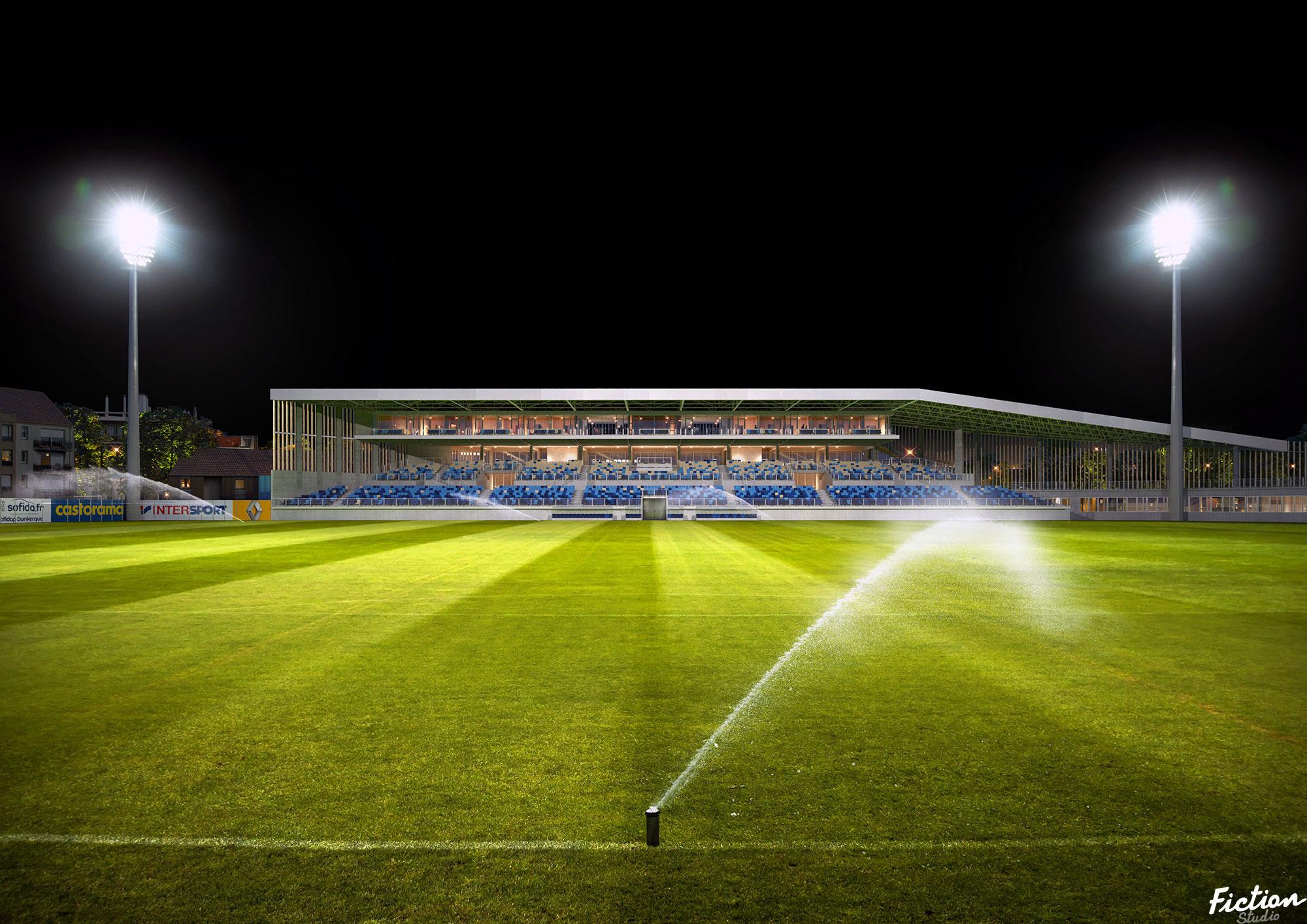 Olgga - Stade Tribut Dunkerque - France