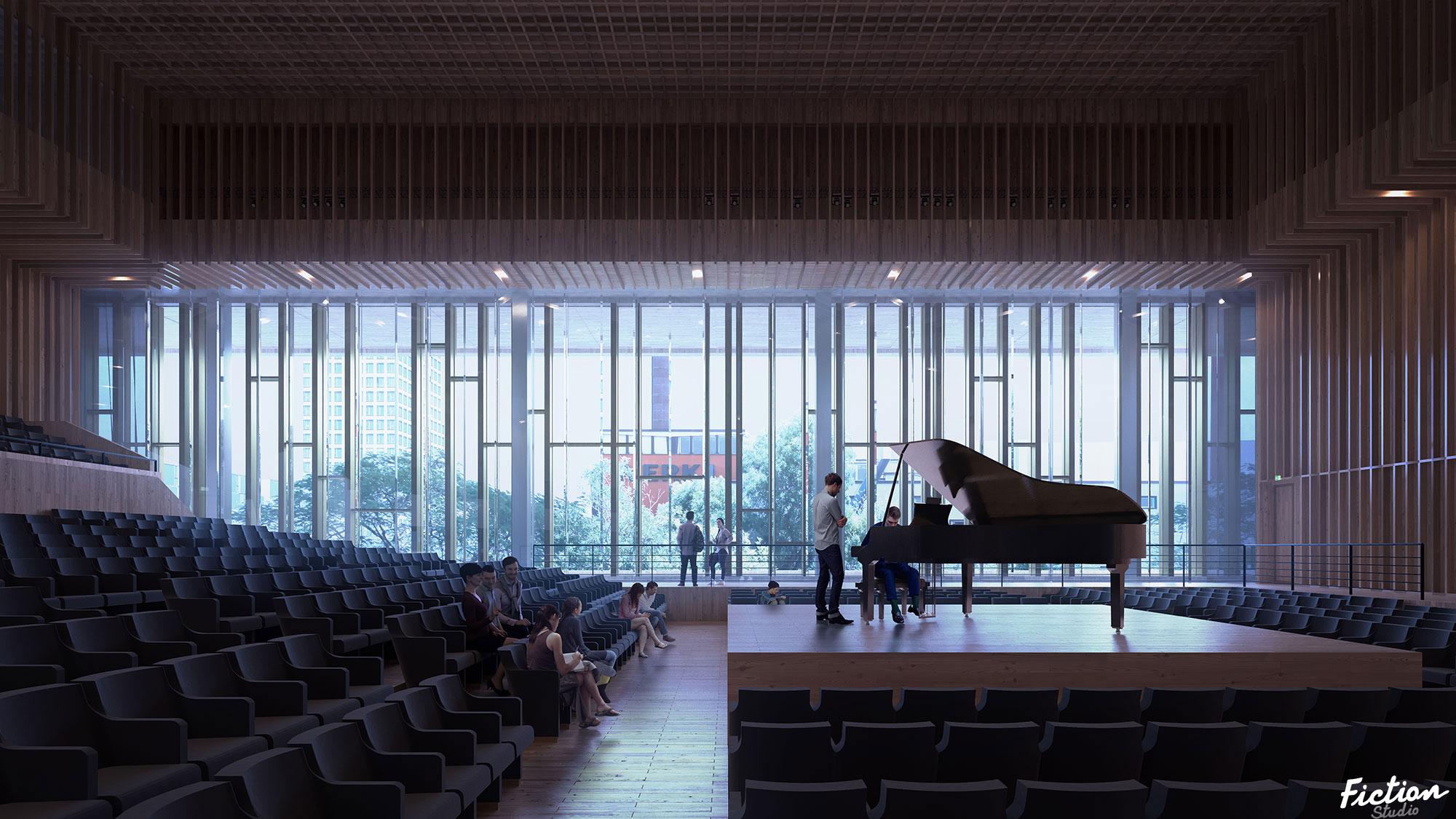 Mecanoo - Munich Concert Hall - Germany