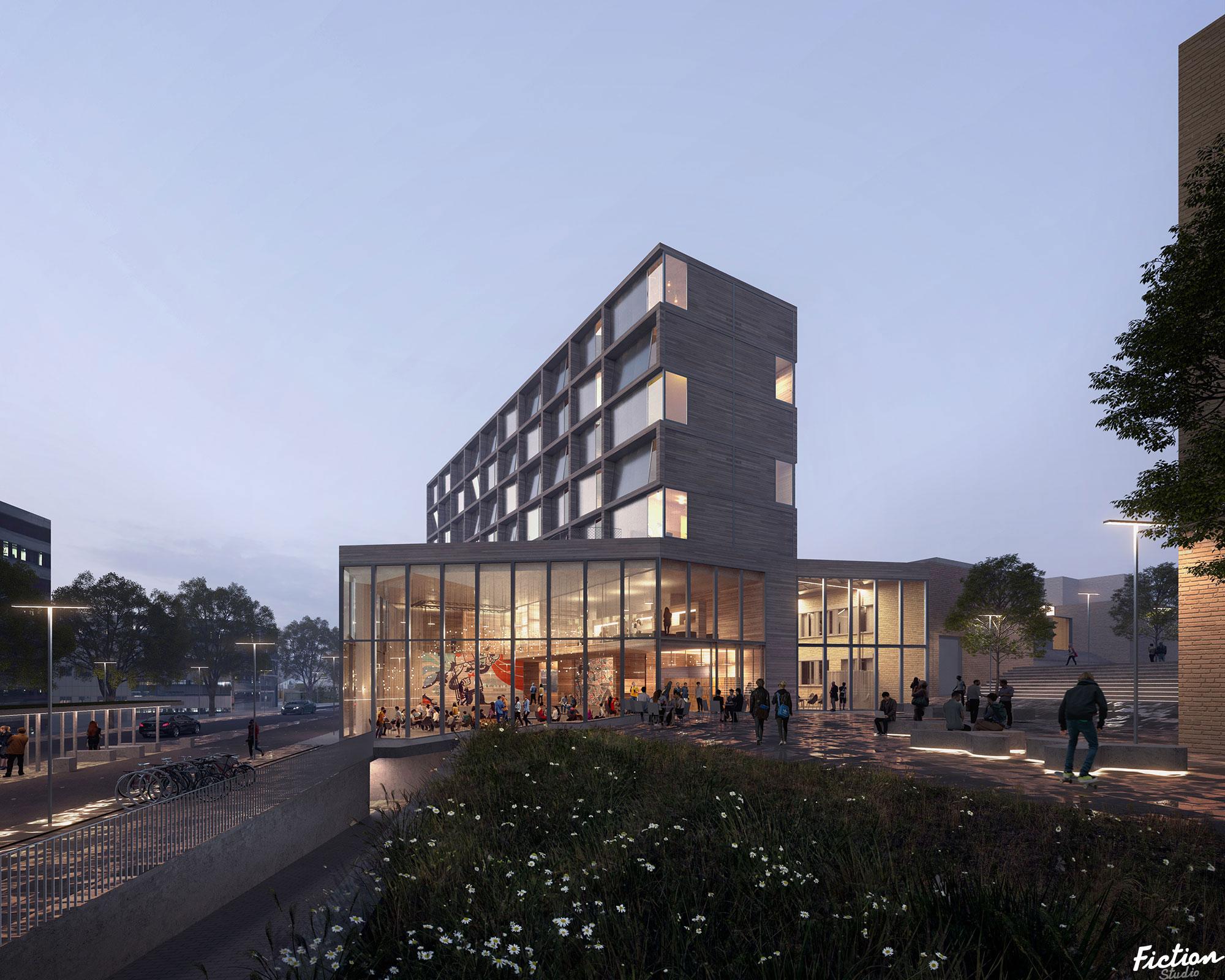 WINNING PROJECT! - 3rw - Innovation hub - Norway