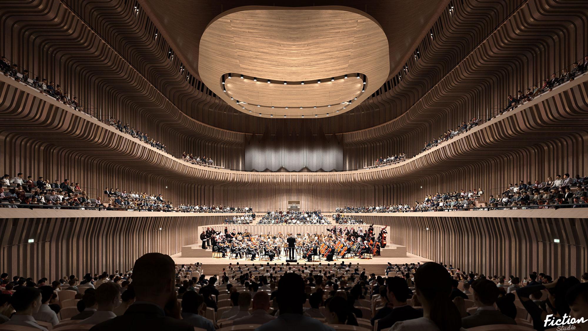 Mecanoo - Muncih Concert Hall - Germany