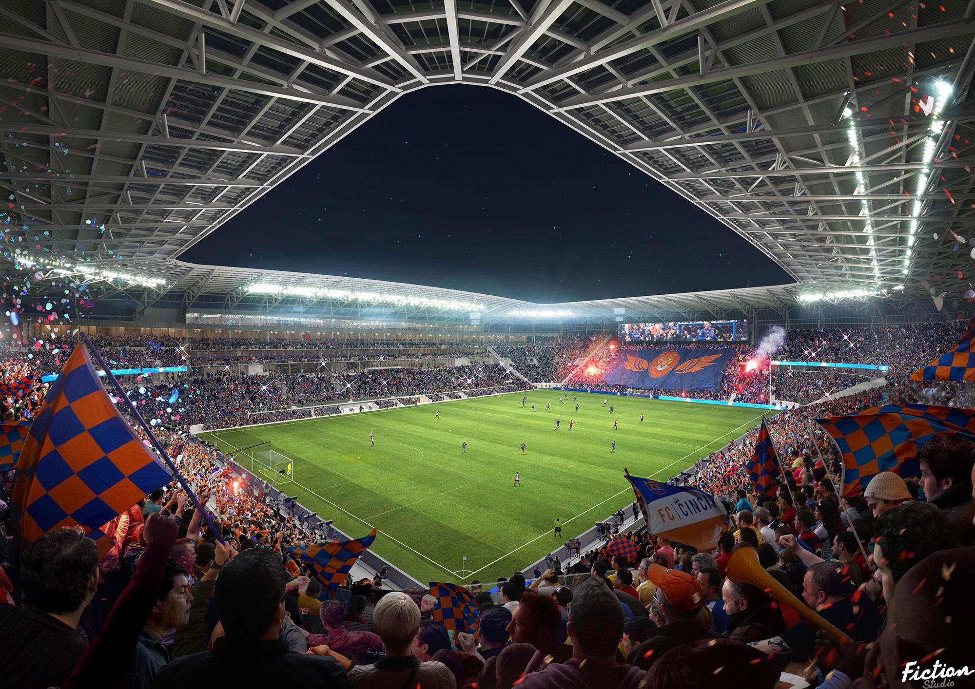 Populous - FCC Soccer Stadium - USA