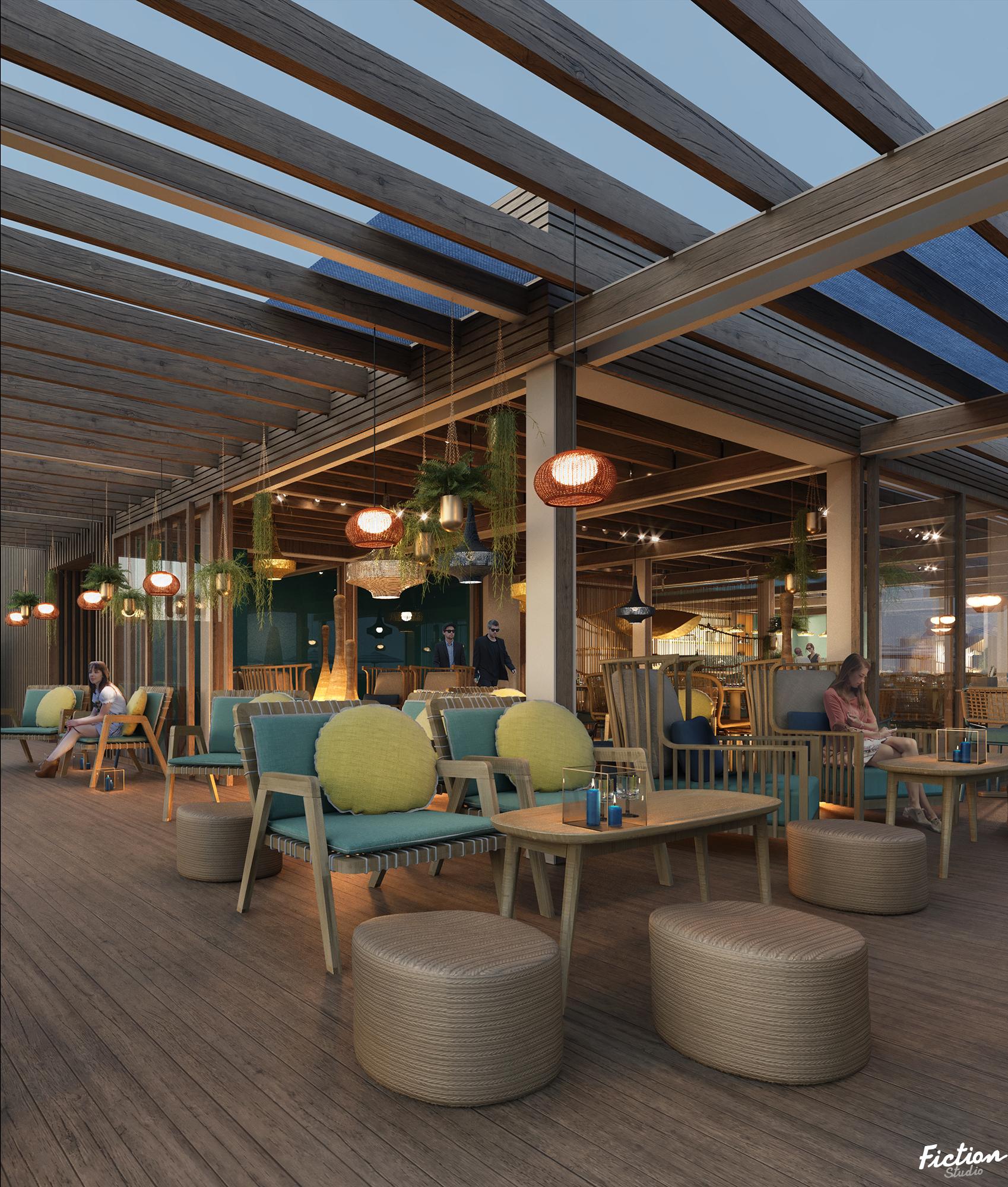 Atelier Cos - Ponton Café - France
