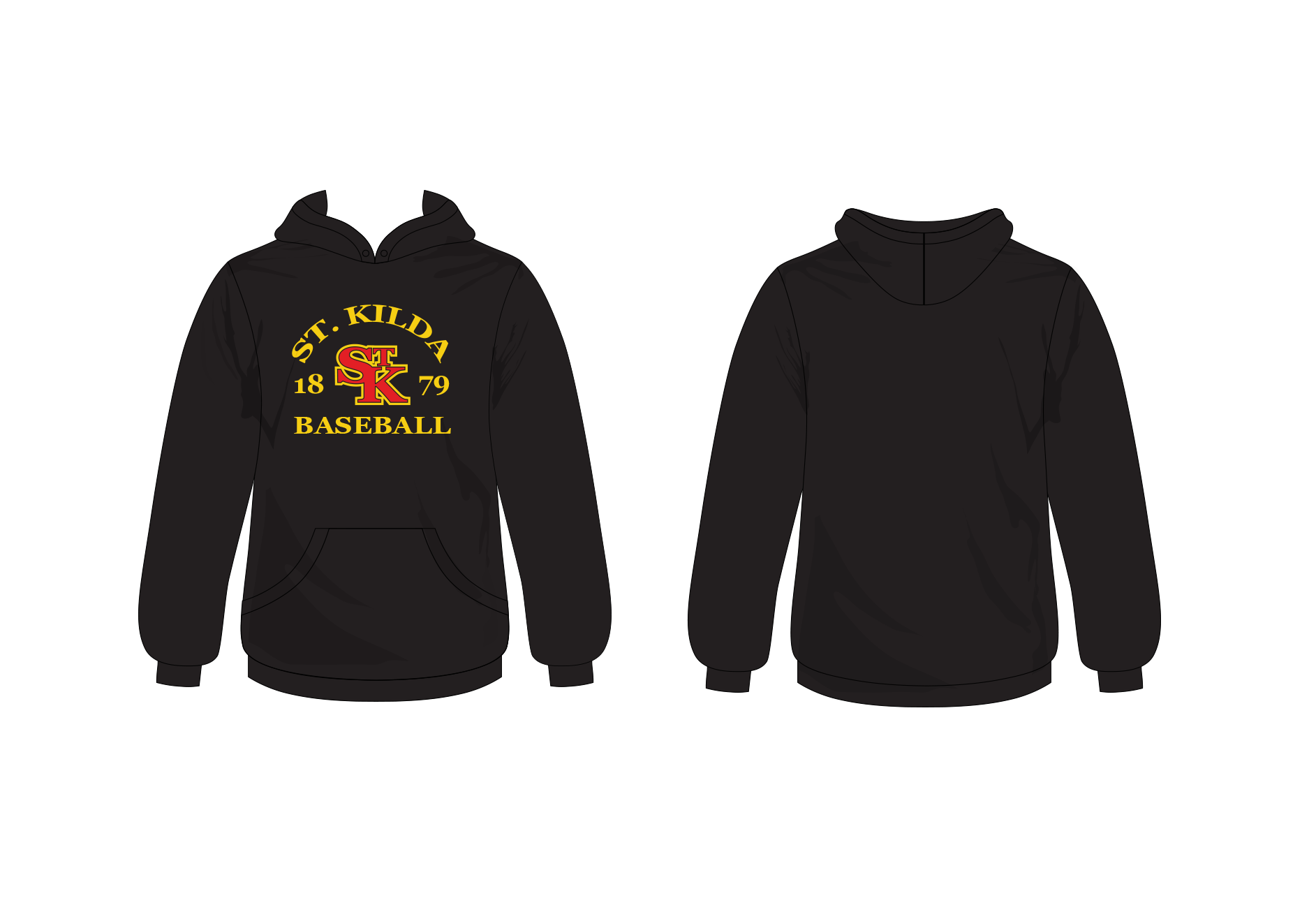 St. Kilda Baseball Club Hoodie