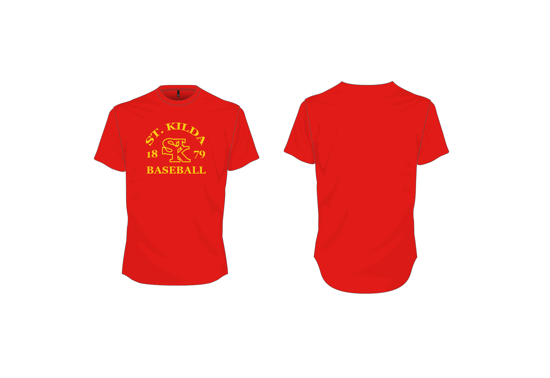St. Kilda Baseball Club Warm-Up Tee