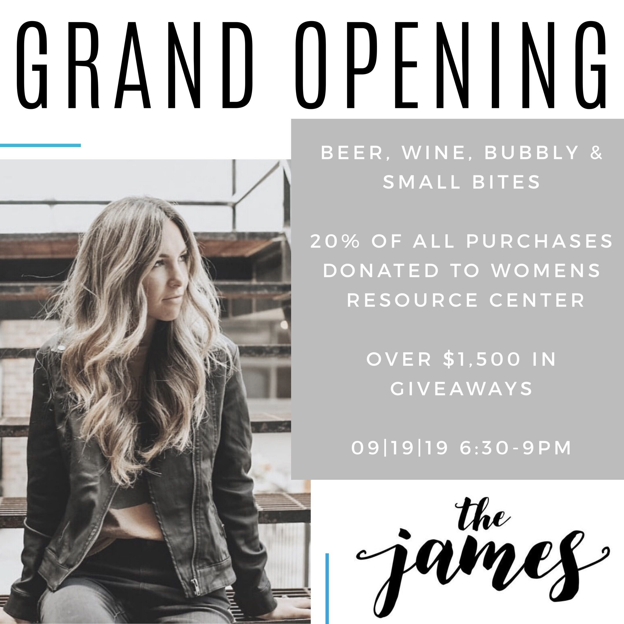 the james salon spa boutique ada mi grand opening event