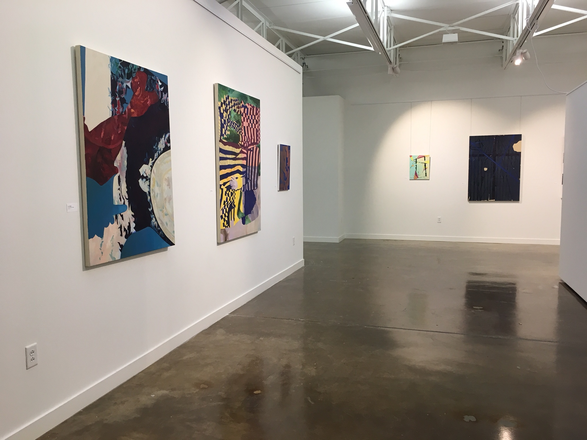 Installation view at Sherle Wagner Art Gallery, Dallas, TX, 12/2016-2/2017