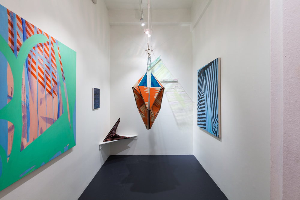 Installation view of  Ramshackle Kaleidoscope , curated by Jordana Zeldin, ArtBridge Drawing Room, 2013