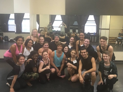 At Open Jar after a masterclass with  Hamilton's  Thayne Jasperson!